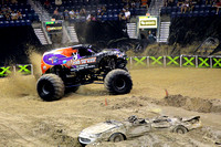 Monster X Tour - monster truck show -Germain Arena