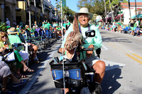 St. Patrick's Day parade along 5th Ave S. in Naples, FL